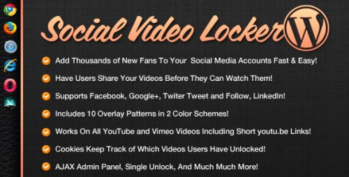 WordPress Plugins Reviews - WP Social Video Locker WordPress Plugins