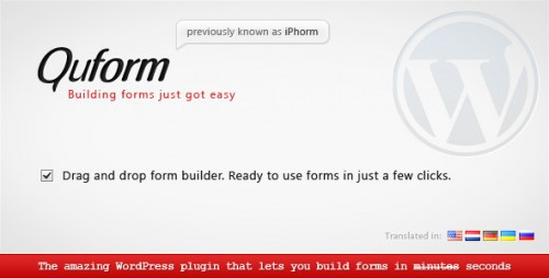 WordPress Plugins Reviews - Quform WordPress Form Builder WP Plugin