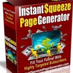 Instant Squeeze Page Creator Software